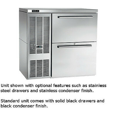 """Perlick BBS36C 36"""" One-Section Tobin Ellis Refrigerated Drawer Cabinet"""