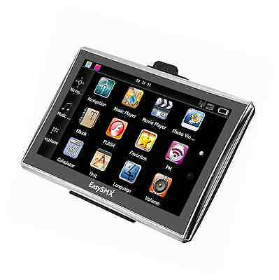 7 Inch 8GB TFT LCD Touch Screen SAT NAV Car GPS Navigation with UK and Full EU M