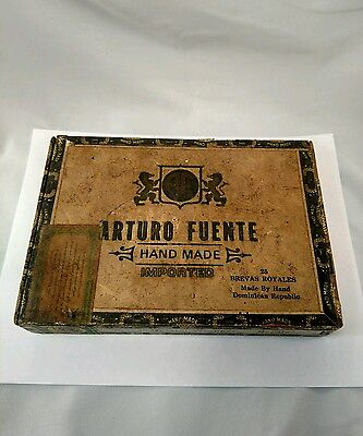 ARTURO FUENTE Hand Made Imported Cigar Box Dominican Republic FREE SHIPPING!