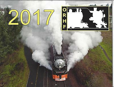 2017 ORHC Calendar, SP 4449 Daylight Locomotives - Oregon Rail Heritage Center