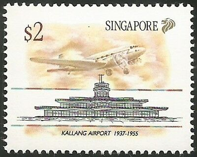 SINGAPORE #598-601 Never Hinged Complete Set (4)
