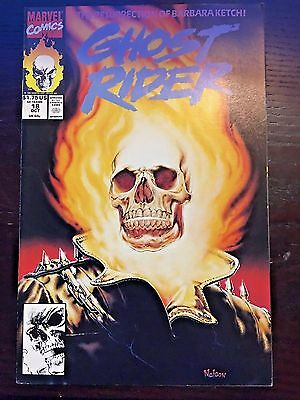 Ghost Rider (1990 2nd Series) #18 9.4 NM Near Mint Marvel Comics High Grade