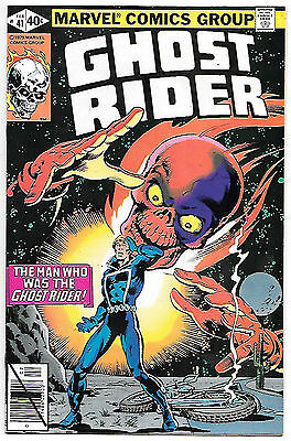 Ghost Rider #41 (Marvel 1980; vf/nm) Guide value $8.00 (£6.00)