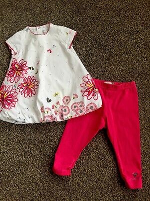 Girls Catimini Outfit Age 6months