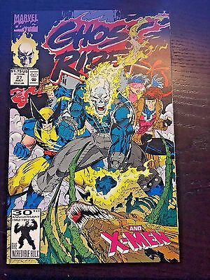 Ghost Rider (1990 2nd Series) #27 8.5 VF+ Very Fine+ Marvel Comics High Grade
