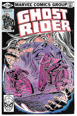 Ghost Rider #44 (Marvel 1980; vf/nm) Guide value $8.00 (£6.00)