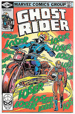 Ghost Rider #46 (Marvel 1980; vf/nm) Guide value $8.00 (£6.00)