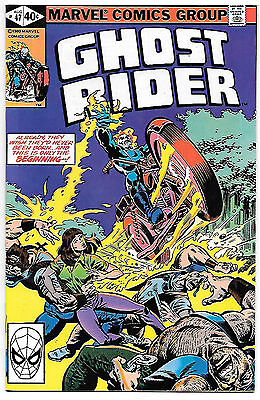 Ghost Rider #47 (Marvel 1980; vf/nm) Guide value $8.00 (£6.00)