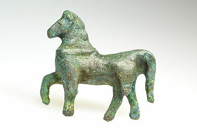 Roman Bronze Figurine of Horse