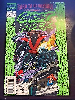 Ghost Rider (1990 2nd Series) #42 8.5 VF+ Very Fine+ Marvel Comics
