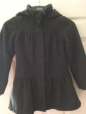 Girls Winter Coat Age 7 - 8 From M&s