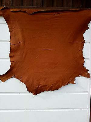 leather nappa skins (circa600 sq.ft) - several colours; collection only from SK4