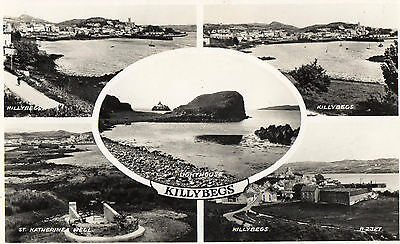 KILLYBEGS CO. DONEGAL IRELAND IRISH RP POSTCARD by VALENTINES No. R2327