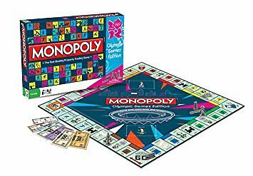 Olympic Games Edition Monopoly Family Board Game Brand New Sealed