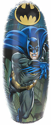 Batman Inflatable Punching Boxing Bopper Bag Weighted Kids Toy Gift