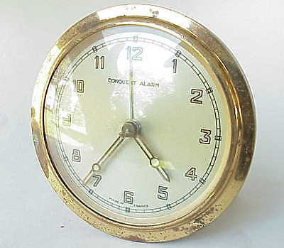VERY Vintage Conquest French Alarm Clock.