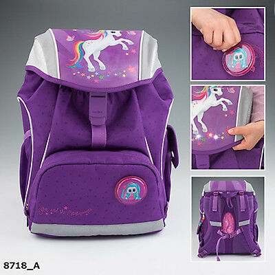 New Ylvi And The Minimoomis School Backpack With Led
