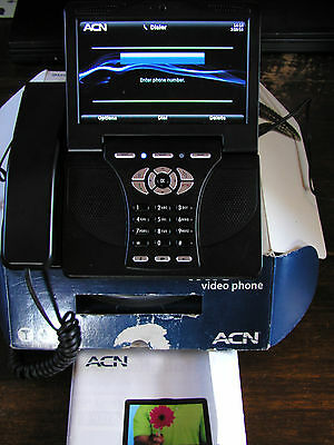 ACN Iris V 5000 WG4K Internet VOIP Video Phone