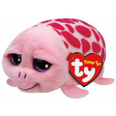 Teeny Tys - Shuffler the Pink Turtle