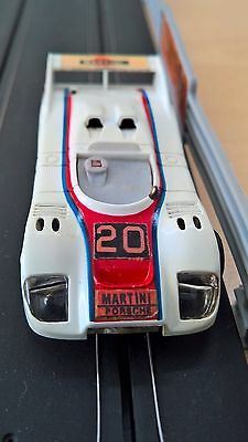 Matchbox Powertrack Porsch Martini Slot Car Model No.PT108 Race And Chase Spares