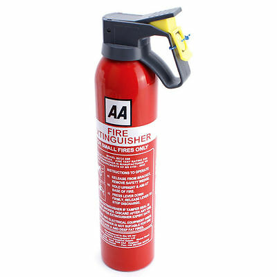 AA Fire Extinguisher Powder 950g Bsi App Car Home Caravan Van Portable Compact N