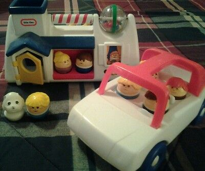 Little Tikes House , Car & People