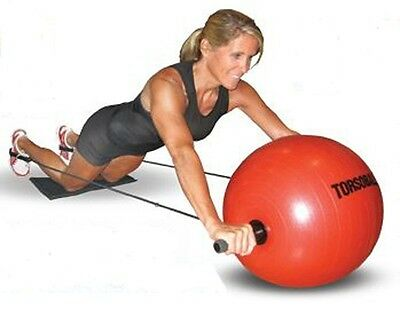 Torsoball Exercise Ball - Free Deluxe Accessory Package