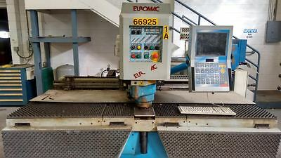Euromac Zx 1000/30 Hydraulic Punch Press
