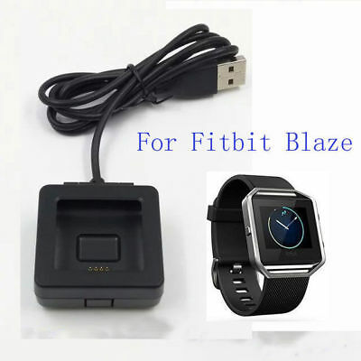New Power Charging Cradle Charger Dock + USB Cable for Fitbit Blaze Smart Wear