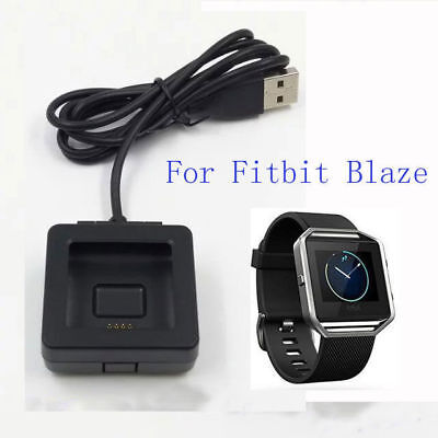 New USB Charging Cradle Charger Dock with Cable for Fitbit Blaze Smart Wear
