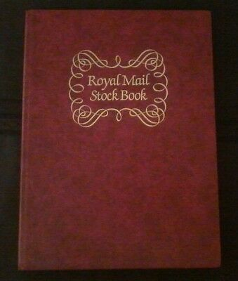 Royal Mint Stock Book,red,8 double-sided(16)pgs,used,some wear & tear,#1354