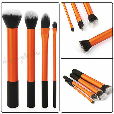 4PCS Cosmetic Real Techniques Core Collection Makeup Brushes Contour Foundation