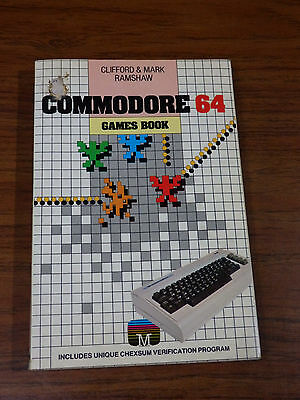 Commodore 64 Games Book by Clifford & Mark Ramshaw