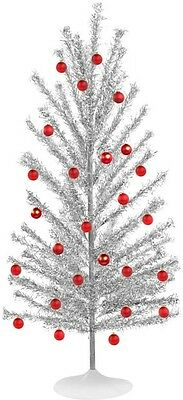 Vintage 50s 60s Style 7' Mid Century Modern Reproduction Aluminum Christmas Tree