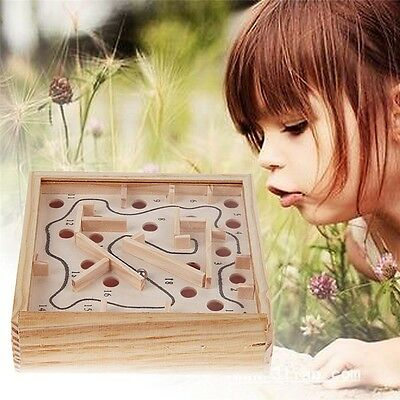 New Balance Board Game Toy Wooden Labyrinth Maze Game Intelligence Devevop Toy