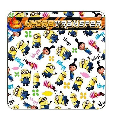 138 Minions Water Transfer Printing