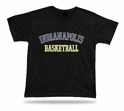 Indianapolis USA BASKETBALL t-shirt tee warm up style court side design