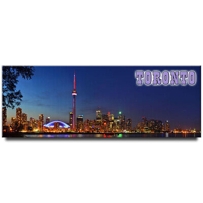 Fridge magnet with panoramic view of Toronto, Canada