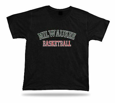Milwaukee USA BASKETBALL t-shirt tee warm up style court side design