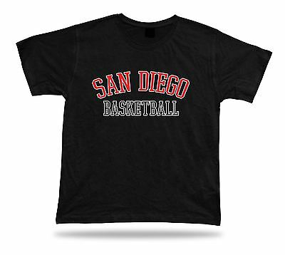 San Diego USA BASKETBALL t-shirt tee warm up style court side design