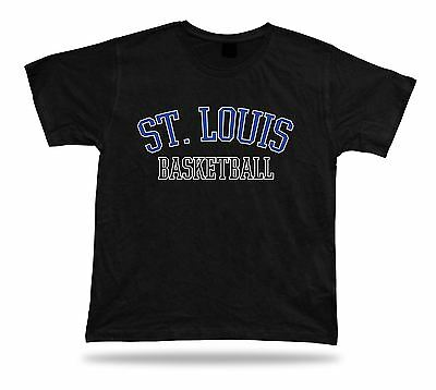 St. Louis USA BASKETBALL t-shirt tee warm up style court side design