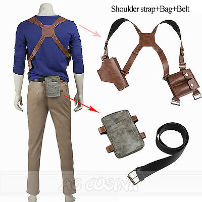 2f063292e833d Uncharted a thief end nathan drake cosplay accessories strap bag belt jpg  400x400 Nathan drake bag