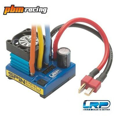 LRP Spin Pro RC Brushless Electronic Speed Controller ESC 5.5T Limit LRP80250