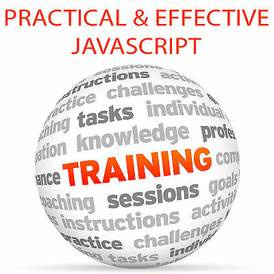Practical and Effective JAVASCRIPT - Video Training Tutorial DVD
