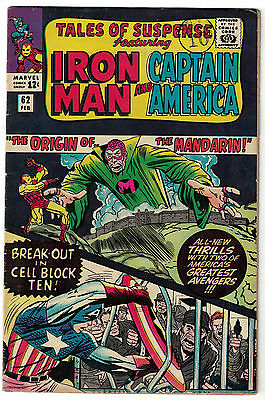 Marvel Comics TALES OF SUSPENSE Issue 62 Iron Man And Captain America! FN
