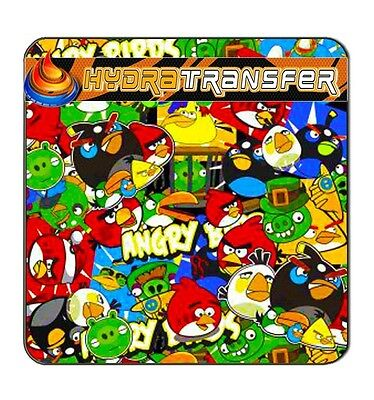 16 Sticker Boom Angry Birds Water Transfer Printing