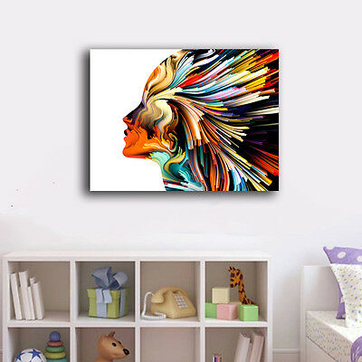 Graffiti Abstract Stretched Canvas Prints Framed Wall Art Home Decor Painting