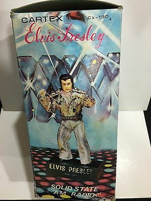 Vintage  Novelty Radio Elvis Presley Band Am(Mw)1970S With Box