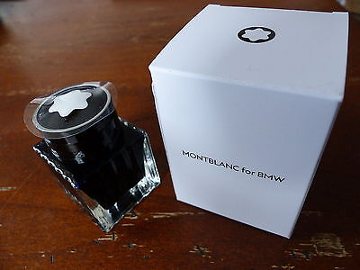 "--  MONTBLANC Special Edition ""MONTBLANC for BMW"" Blue Ink  --"