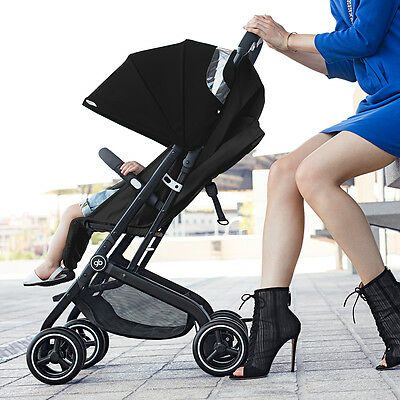 NEW Qbit+ Baby Stroller Monument Black #`616240043